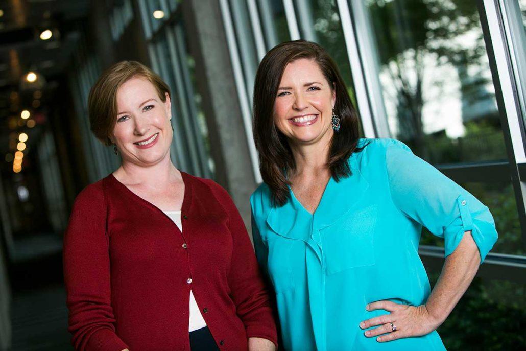 Anne Sciarrone and Beth Hagberg