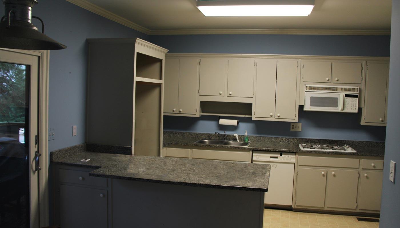 Prior to the kitchen renovation